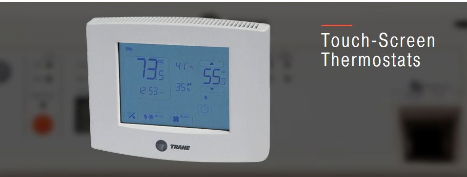 Trane Touch Screen Thermostats Arlington Virginia